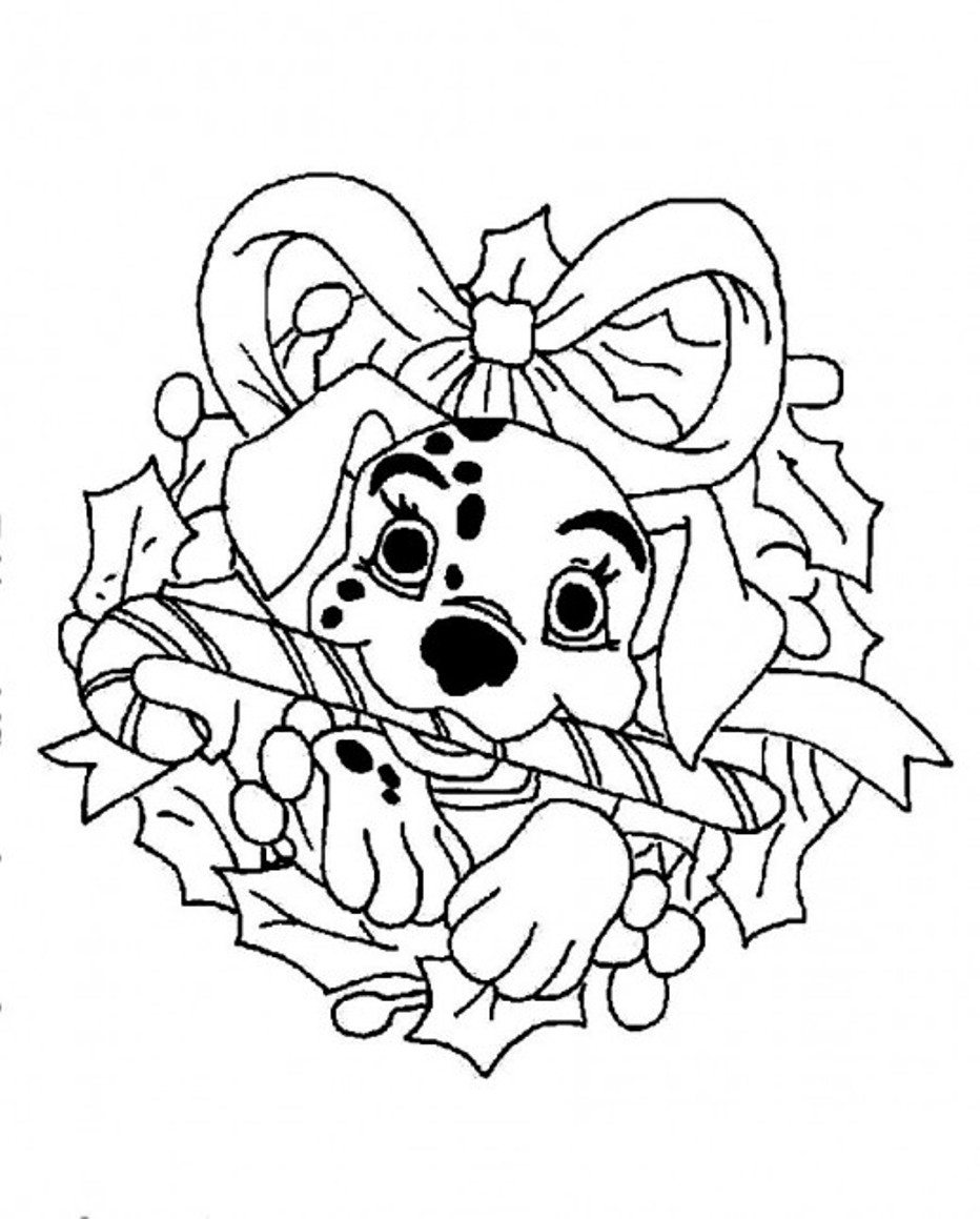 932x1159 Dalmation Disney For Christmas Coloring Page Christmas Coloring