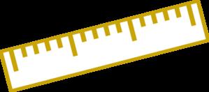 299x132 6 Inch Ruler Clipart