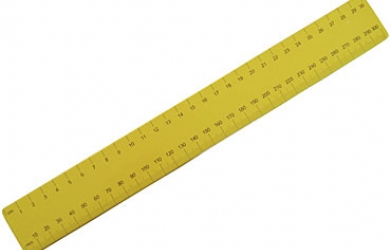 390x250 Actual Size Ruler The Online Vitrual Screen Ruler (Mm,cm,inch)