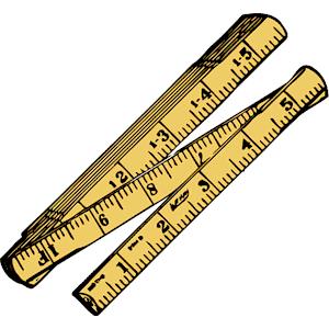 300x300 16 Inch In Ruler Clipart