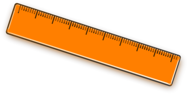 600x301 Ruler Clipart Png