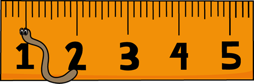500x166 To Scale Inch Ruler Clipart