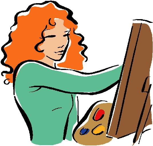 534x511 Painting Clip Art