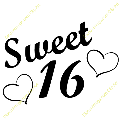 500x500 Sweet 16 Clipart Sweet 16 Clip Art Many Interesting Cliparts Kids