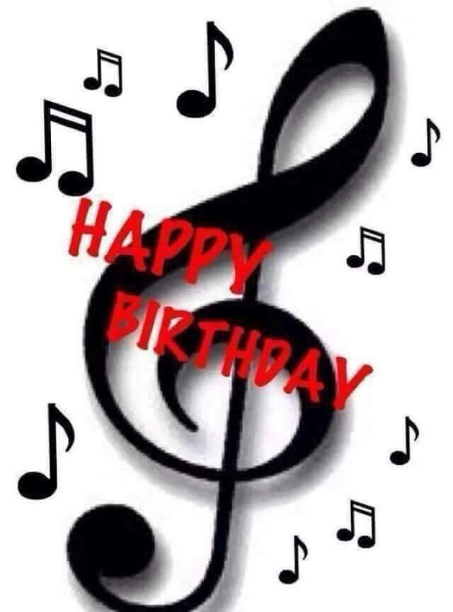 640x864 Best Happy Birthday Music Notes Ideas