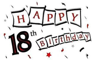 311x203 18 Birthday Cliparts