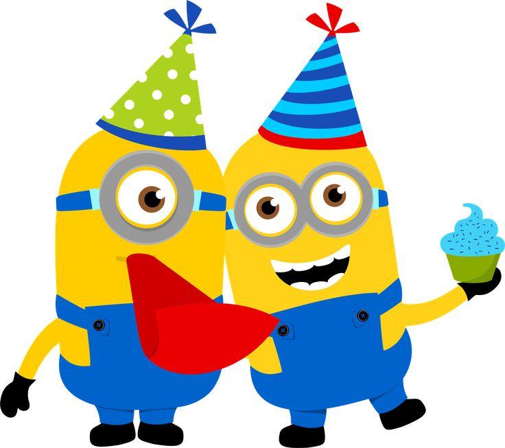 736x653 Birthday Clipart Minion