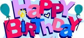 272x125 18 Best Happy Birthday! Images Cards, Birthday