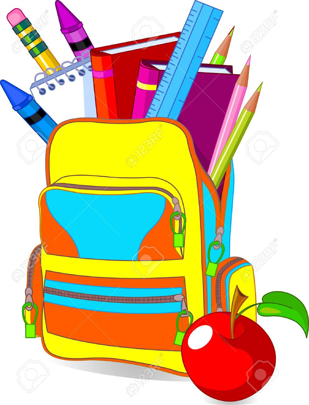 1st Day Of School Clipart