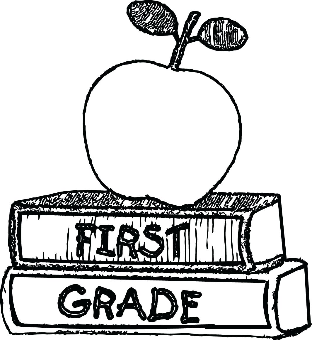 This is a picture of Ridiculous back to school coloring pages for first grade