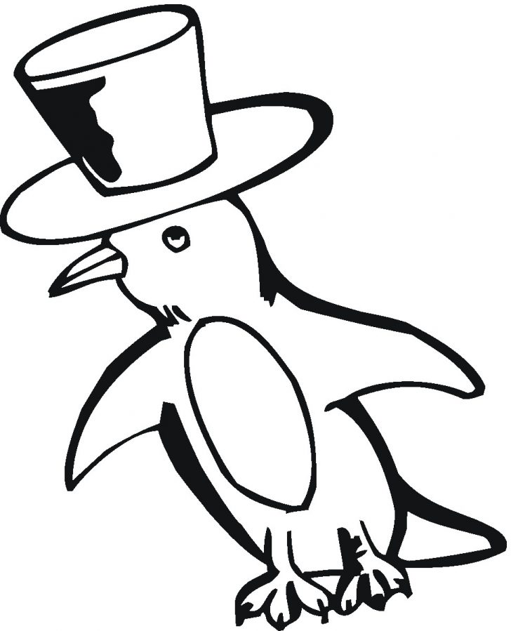 728x899 Chinstrap Penguin Coloring Page Printable Pages Click The Sheets