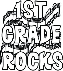 270x300 Coloring Pages Rocks Coloring Pages First Grade Rock Star Page
