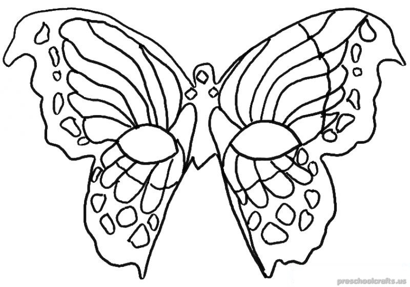 800x559 Animals Butterfly Coloring Pages For First Grade