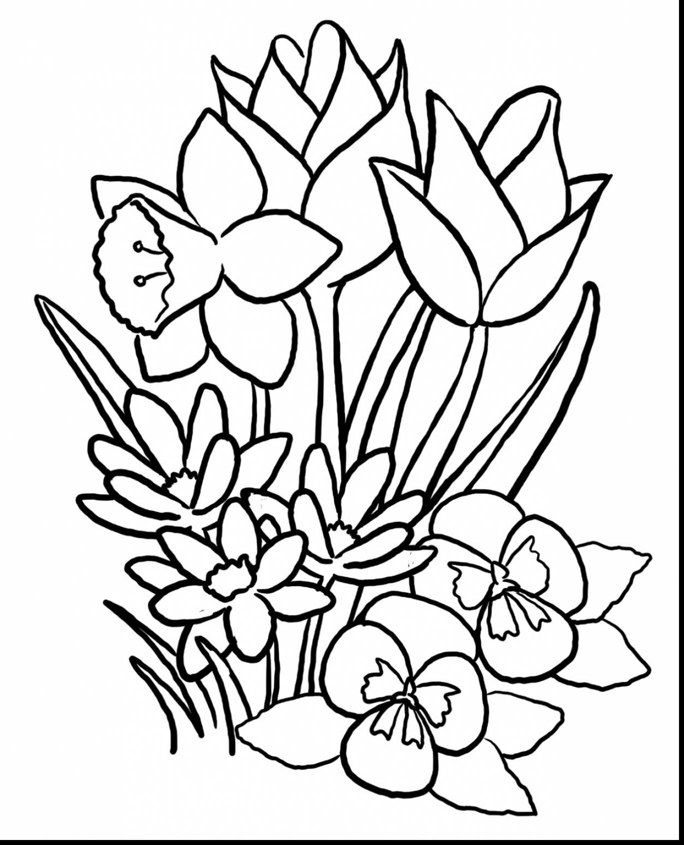1368x1689 Surprising Spring Coloring Pages