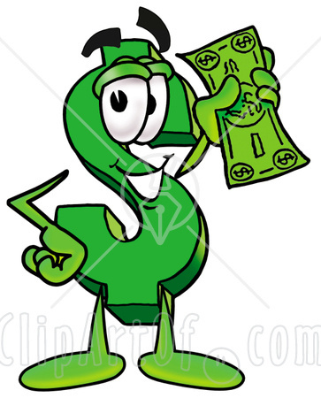 20 Dollar Bill Clipart