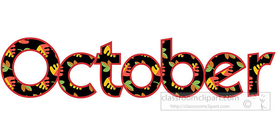 550x232 Free October Clip Art Pictures 4