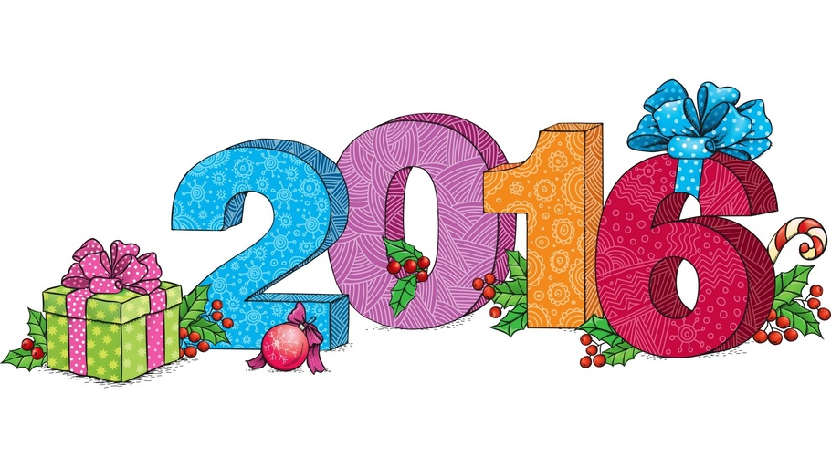 910x512 2016, New Year, Clipart, Happy New Year 2016 Clipart Wallpapers 78888