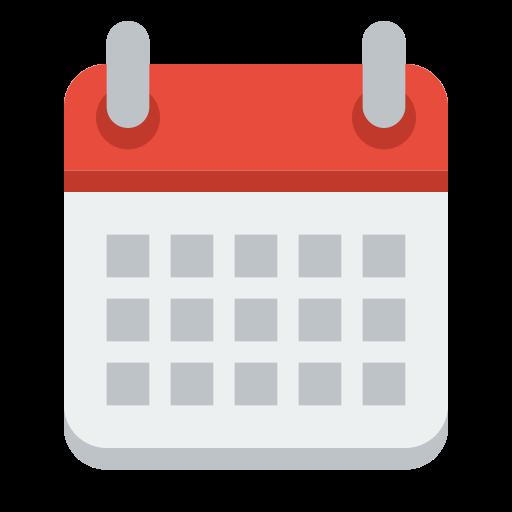 512x512 Academic Calendar 2017 2018
