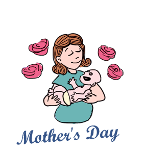 280x300 Mother's Day Clipart International