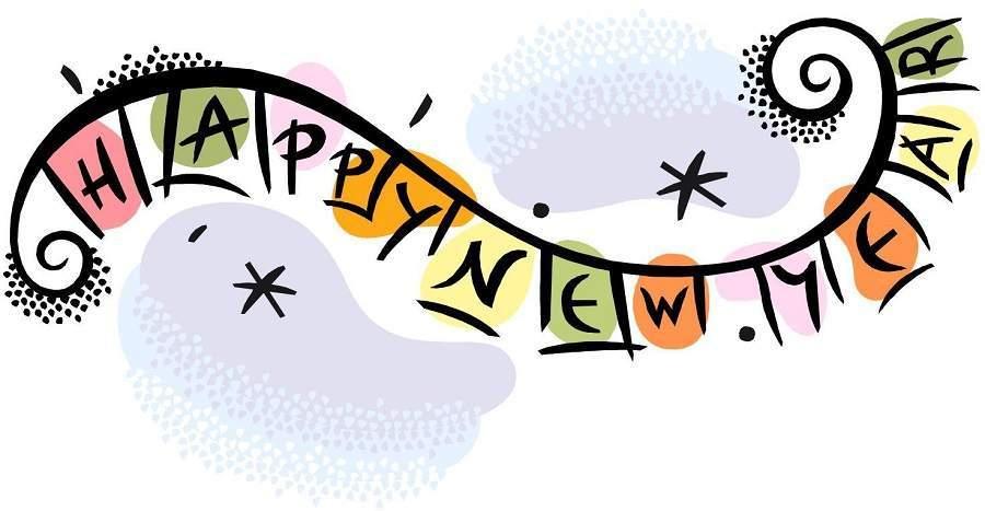 900x467 2018clip New Year Clip Art Happy New Year 2018 Pics