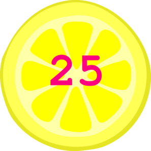 25 Cents Clipart