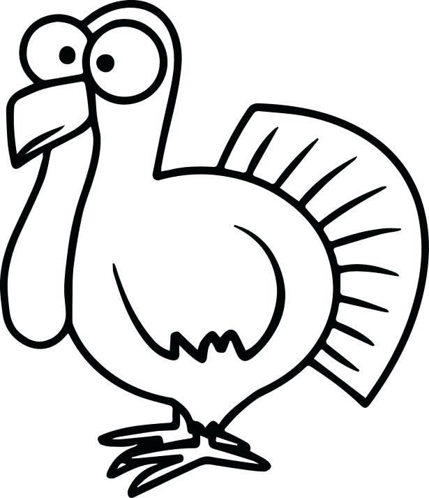 615x713 Free Turkey Printables
