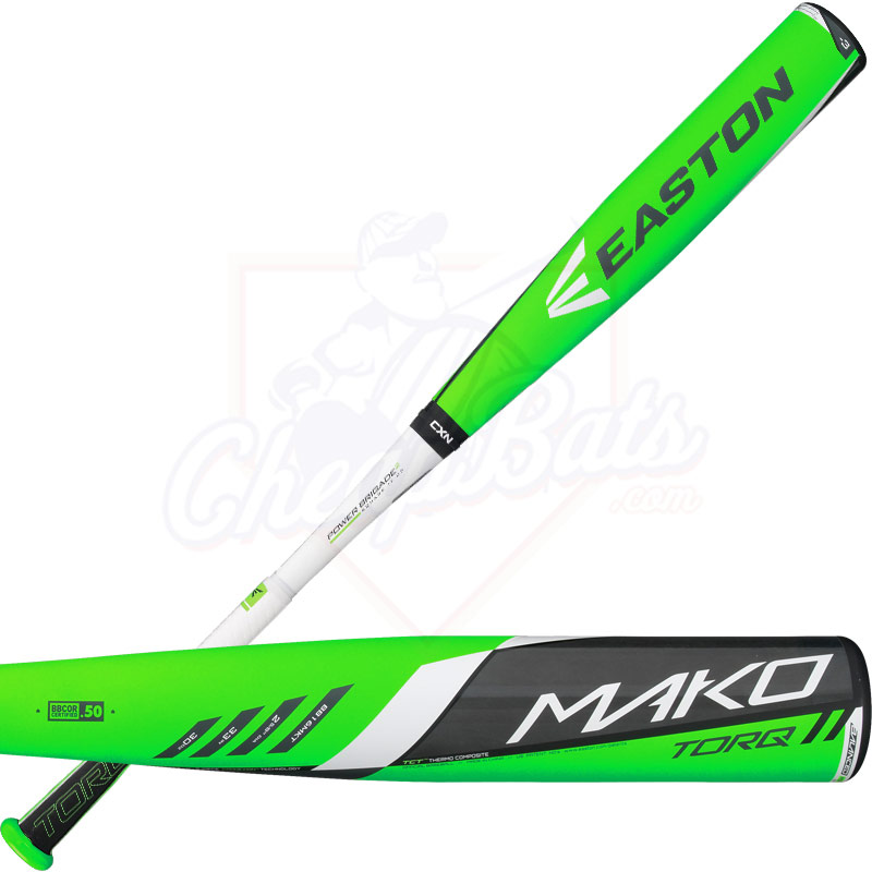800x800 Easton Mako Torq Bbcor Baseball Bat 3oz Bb16mkt