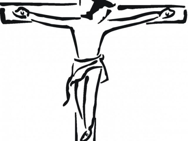 640x480 Clipart Of Jesus On The Cross
