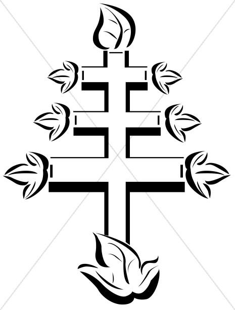 465x612 Papal Cross Symbol Cross Clipart