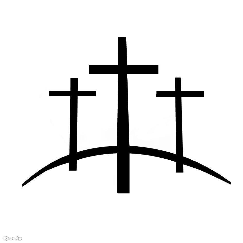 1000x1000 Three Crosses Clip Art Cliparts