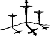 165x120 Three Crosses On A Hill Clipart 2157384