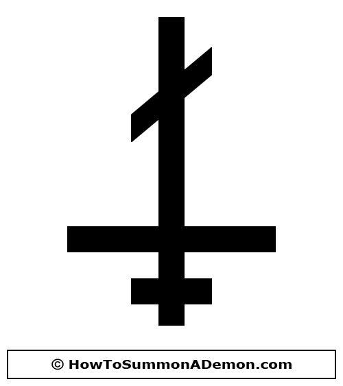 500x563 Upside Down Cross Clip Art Free Demonology Clip Art