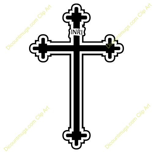 500x500 Catholic Crosses Clipart