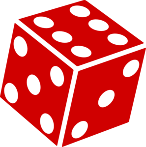 297x299 Rolling Dice Clipart Clipart Panda