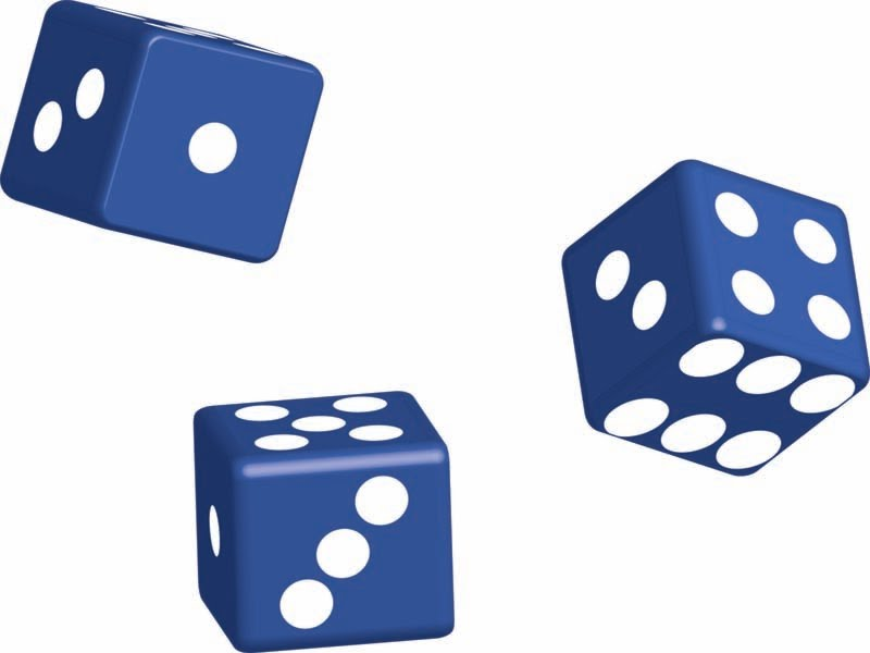 800x600 Rolling Dice Clipart Kid
