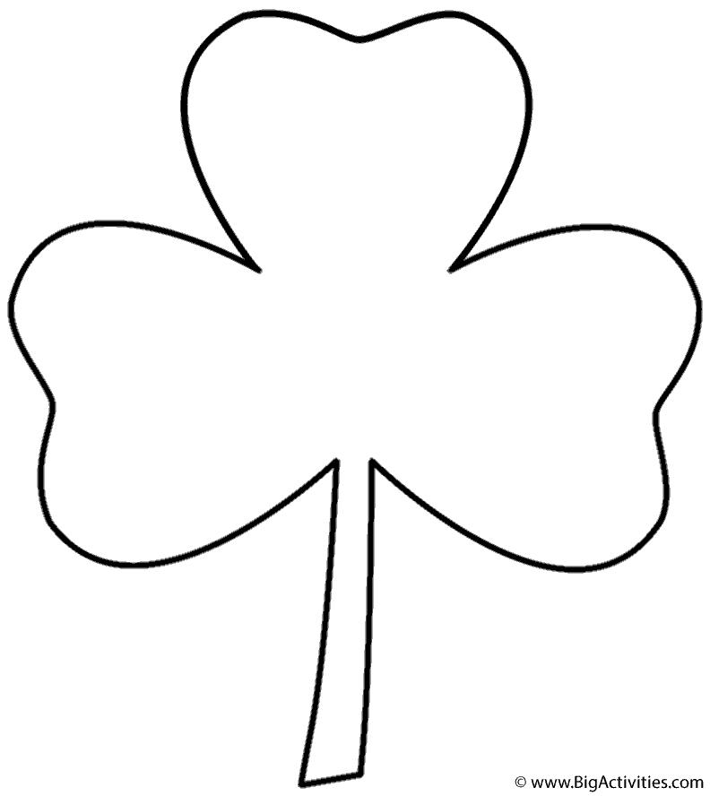 792x888 Three Leaf Clover
