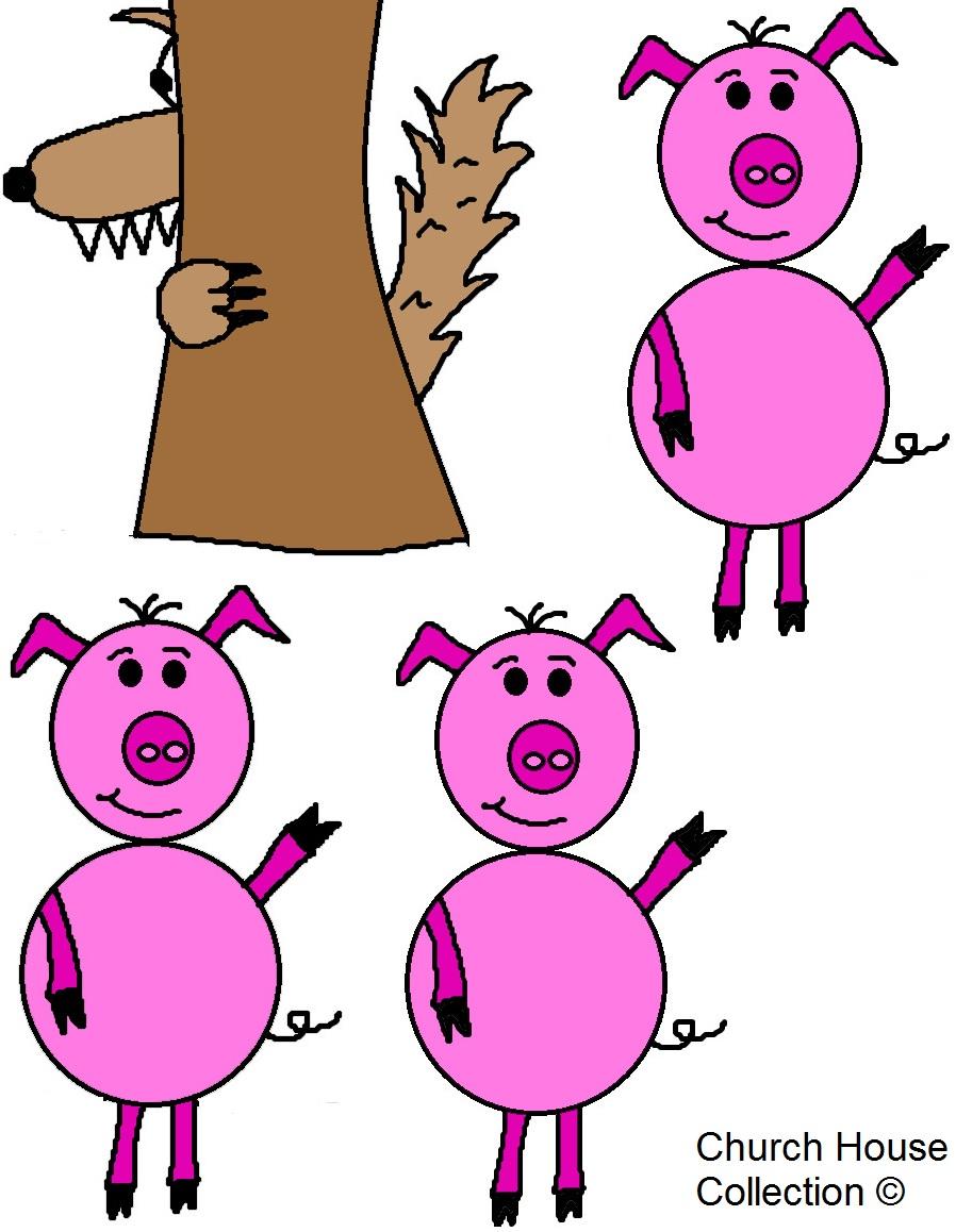898x1158 Clip Art 3 Little Pigs Clip Art
