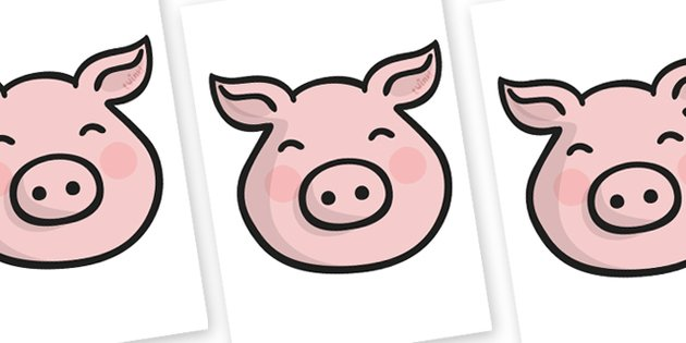 630x315 Mask Clipart Pig