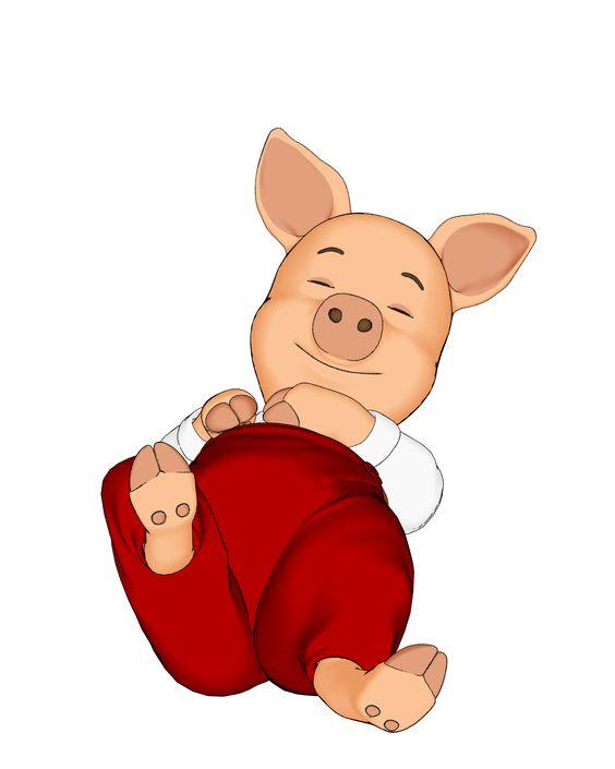 564x705 Pig Clip Art