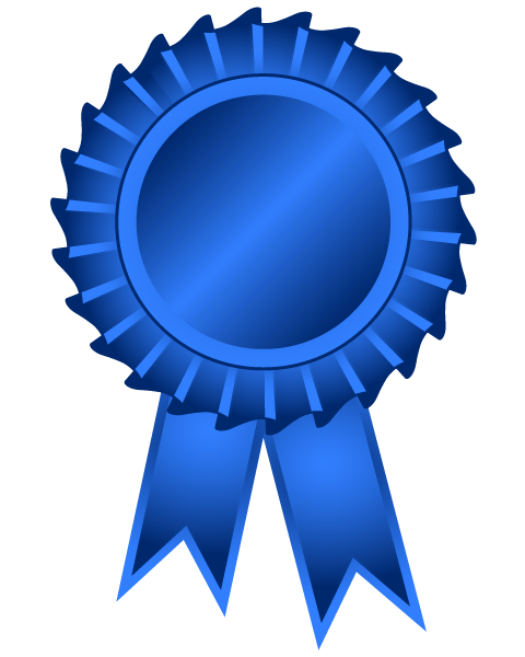 480x600 Award Ribbons Clipart