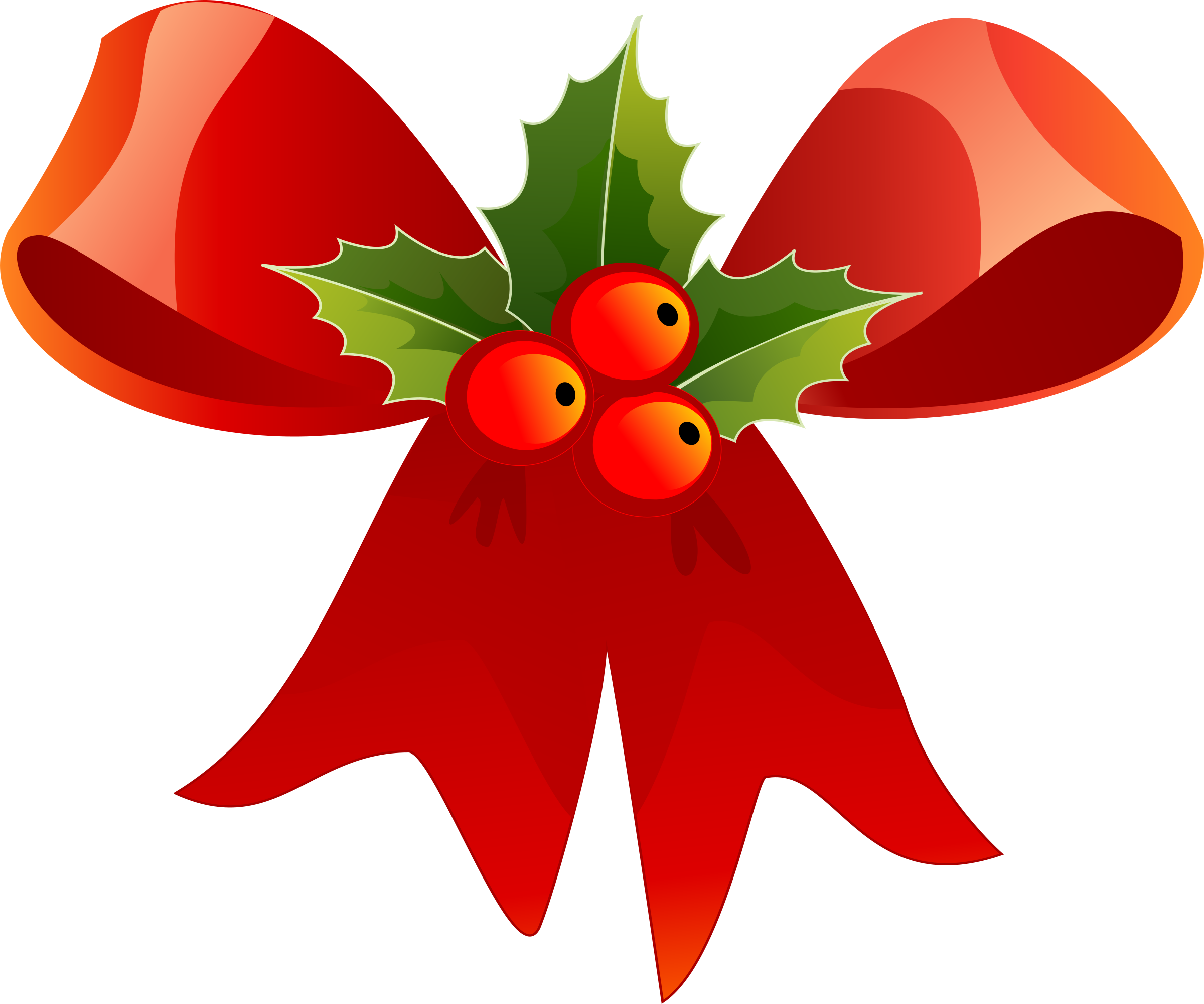 2400x2000 Ribbon Clipart Holiday Bow