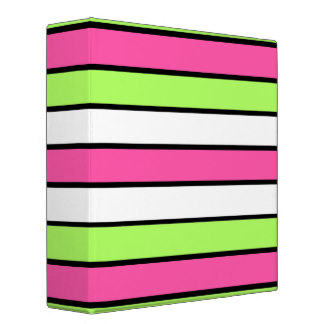 324x324 Pink Neon Binders, Custom Pink Neon Binder Designs, 3 Ring Binders