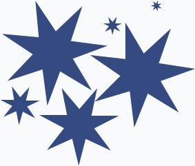 283x241 Free Stars Clipart
