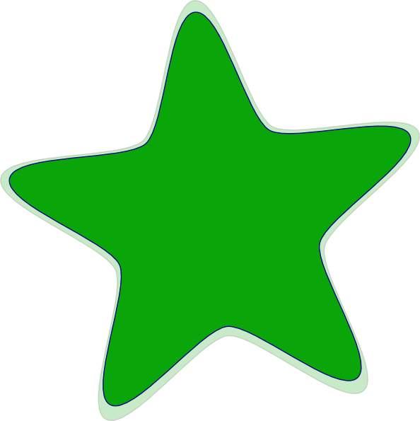 594x595 Green Star Clip Art Cliparts