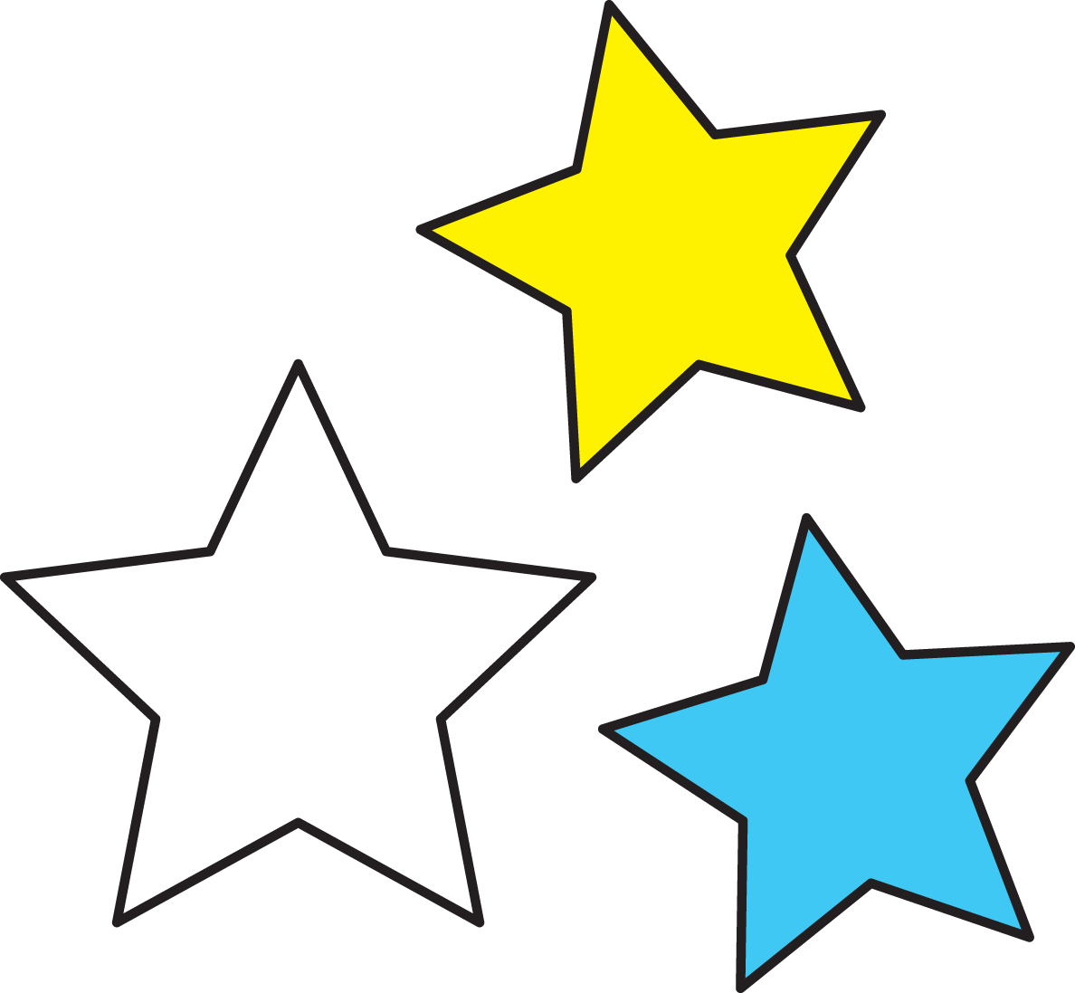 1188x1097 Outer Space Stars Clipart Clipartfest
