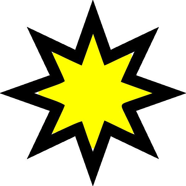 600x600 Star 1 Clip Art
