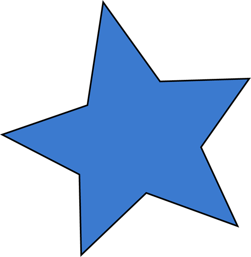 500x512 Star Clipart And Animated Graphics Of Stars