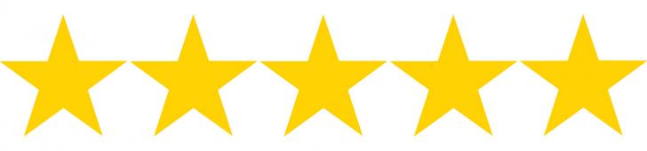 728x170 Stars Clipart