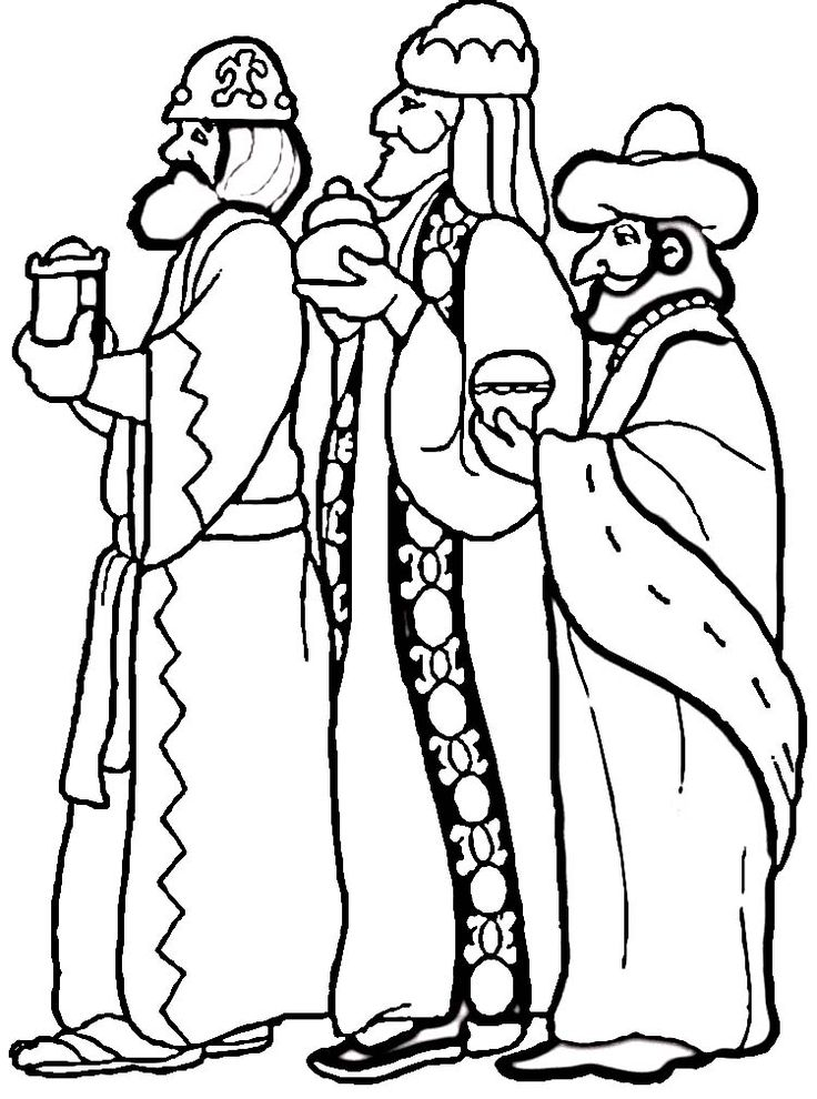3 Wise Men Clipart
