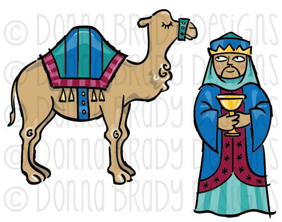 570x450 Three Kings Clipart